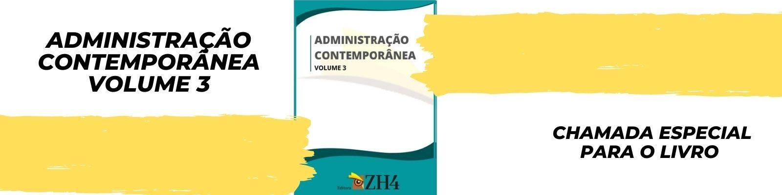 LIVRO: ADMINISTRAÇÃO CONTEMPORÂNEA – VOLUME 3